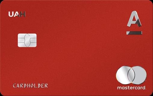 """Кредитна картка """"RED"""" від Альфа-Банку"""