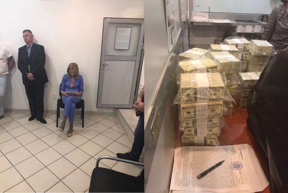 Луценко: чиновницу Фонда гарантирования вкладов поймали на взятке в $5 млн (фото)