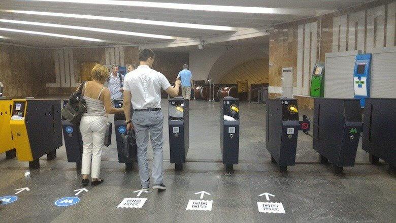 В столичном метро запустили полностью автоматизированную станцию