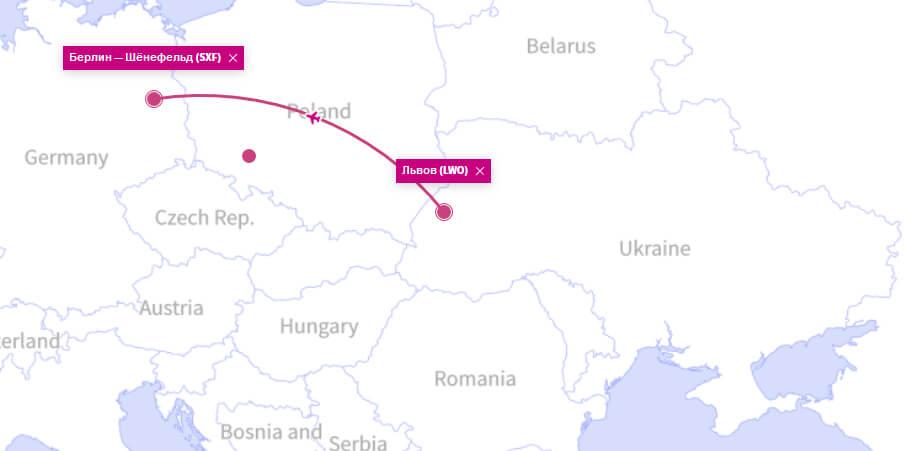 Куда летает Wizz Air из Львова