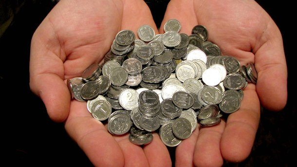 В Украине намерены отказаться от мелких монет