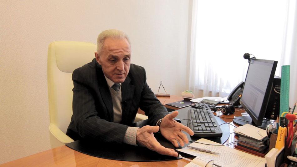 "Председатель правления банка ""Конкорд"" Валентин Меняйло"