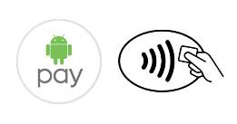Где можно пользоваться Android Pay в Украине - значки