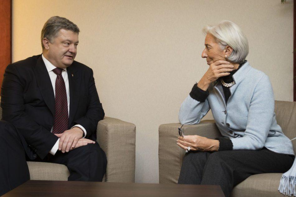МВФ потребовал у Порошенко бороться с коррупцией