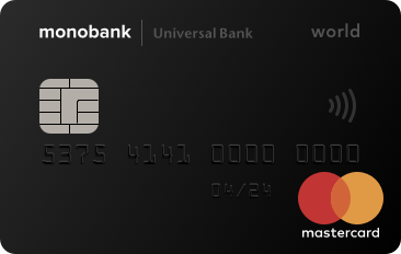 Карта от Monobank (Universal Bank)