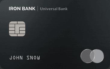 Кредитная карта Ironbank